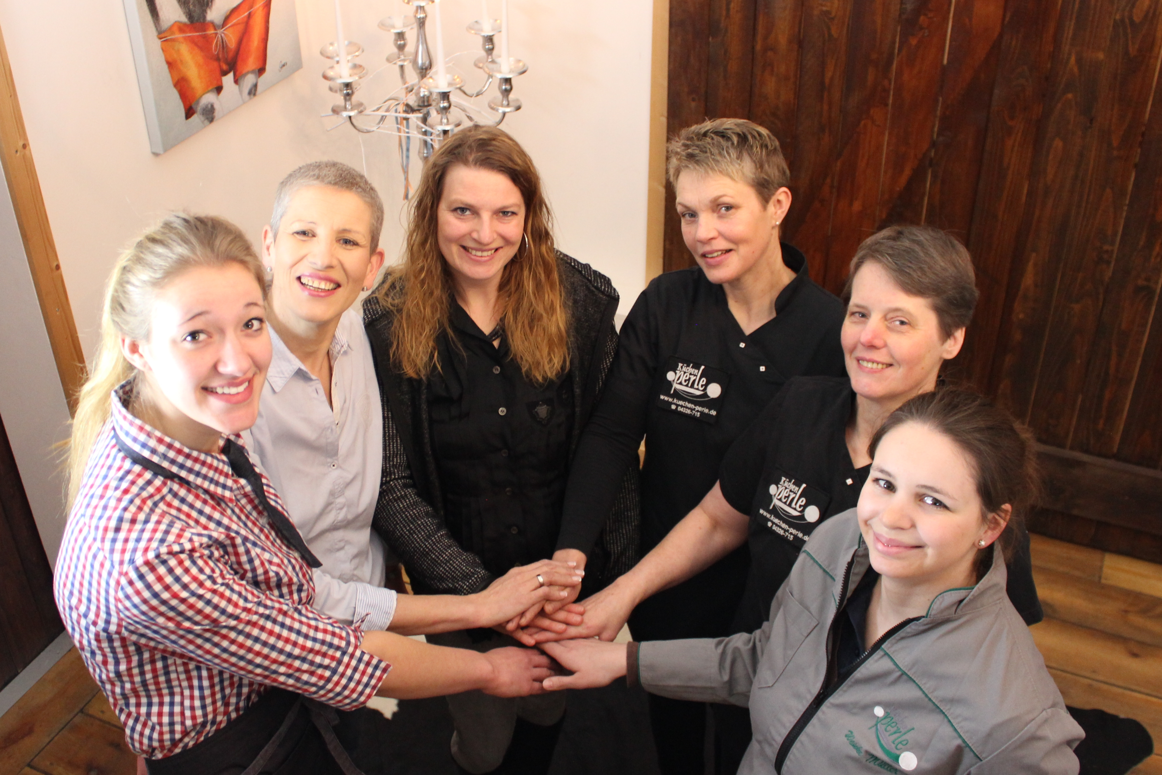 Das Team der Küchenperle